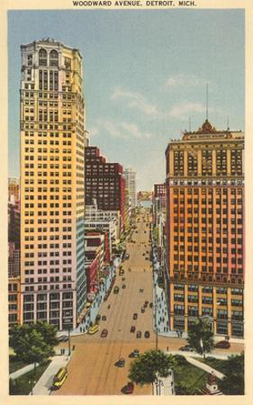 Woodward Avenue, Detroit, Michigan
