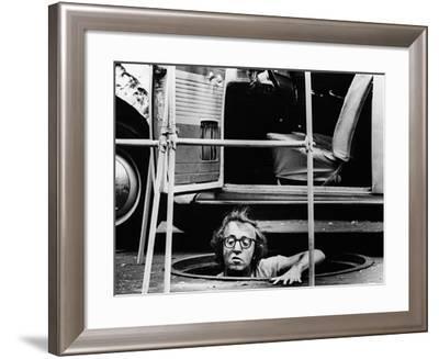 Woody Allen, Bananas, 1971--Framed Photographic Print