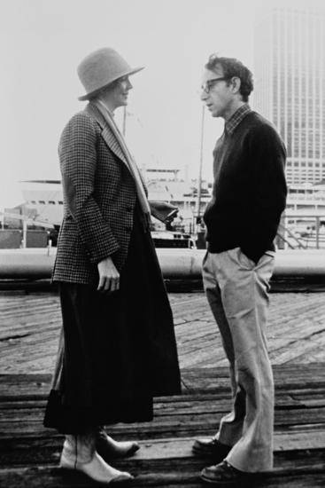 Woody Allen, Diane Keaton, Annie Hall, 1977--Photographic Print