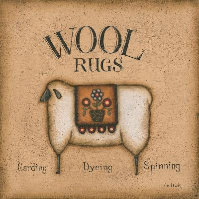Wool Rugs-Kim Lewis-Art Print