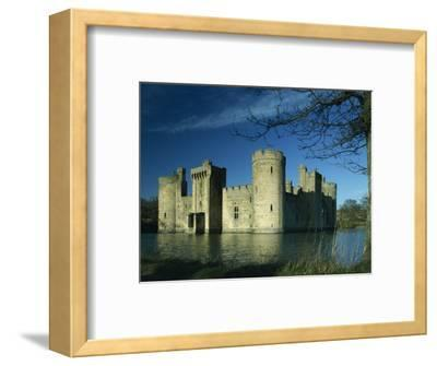Bodiam Castle, Sussex, England, United Kingdom, Europe