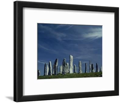 Callanish Stone Circle, Lewis, Outer Hebrides, Western Isles, Scotland, United Kingdom, Europe