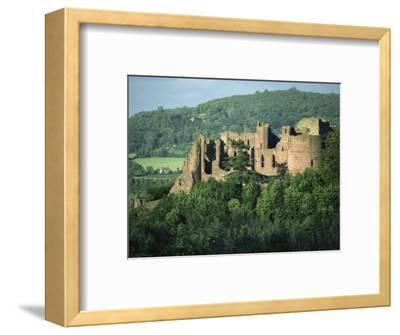 Goodrich Castle, Herefordshire, England, United Kingdom, Europe