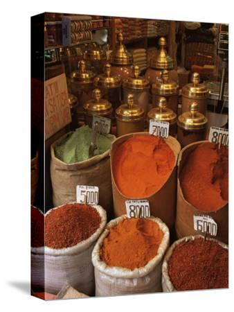 Spices in the Market, Istanbul, Turkey, Europe