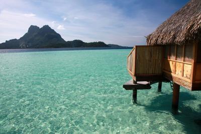 The Lagoon on Bora Bora by Woolfy