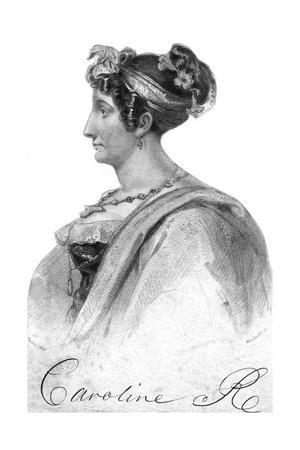 Caroline of Brunswick, Queen Consort of King George IV, 19th Century