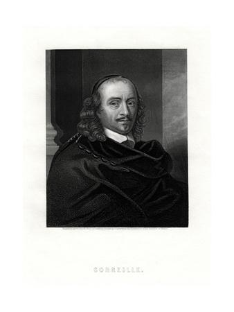 Pierre Corneille, French Tragedian and Dramatist, 19th Century