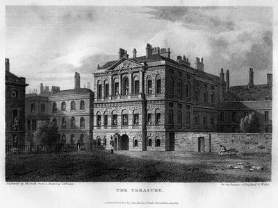 The Treasury, Westminster, London, 1814