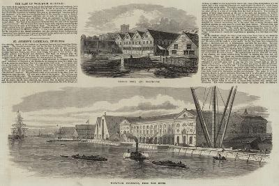 Woolwich Dockyard--Giclee Print