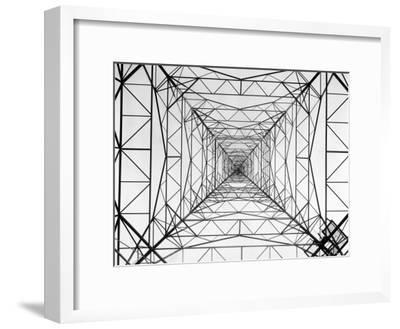 WOR Radio Transmitting Tower-Margaret Bourke-White-Framed Premium Photographic Print