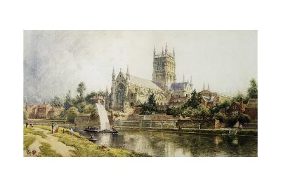 Worcester Cathedral-John O'connor-Giclee Print