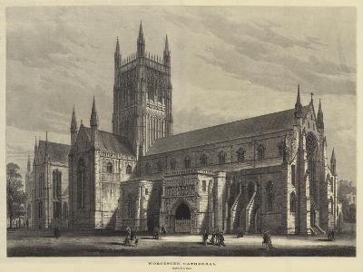 Worcester Cathedral-Samuel Read-Giclee Print