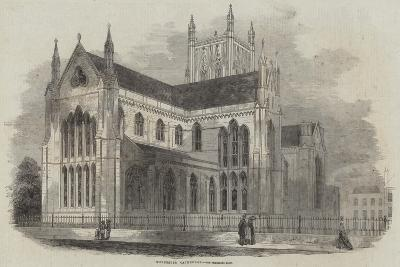 Worcester Cathedral--Giclee Print