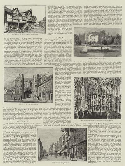 Worcester--Giclee Print