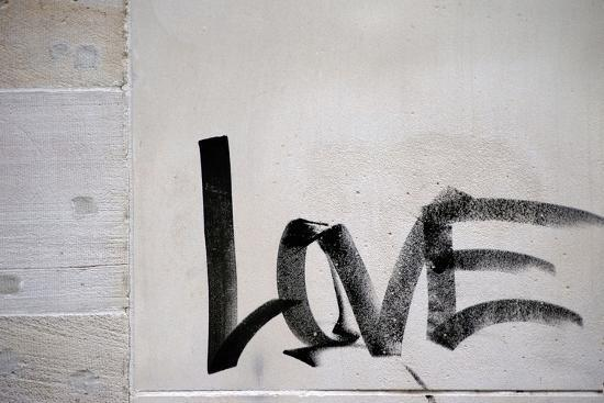 Word Love-ginton-Photographic Print