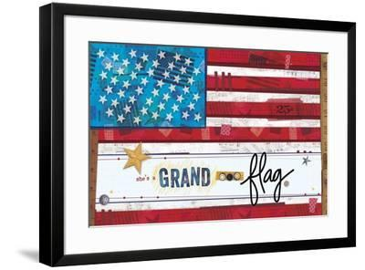 Words Of Freedom 1-Holli Conger-Framed Giclee Print