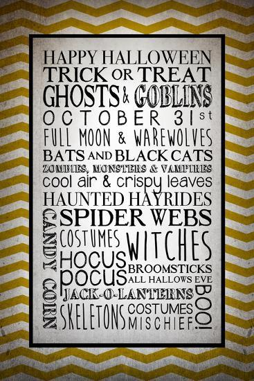 Words of October-Kimberly Glover-Giclee Print