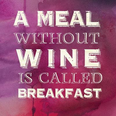 Words of Wine 3-Lola Bryant-Art Print