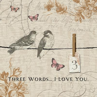 Words that Count III-Pela Design-Premium Giclee Print
