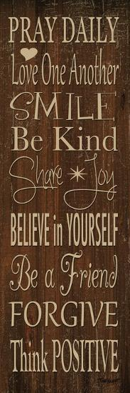 Words to Live by I-Todd Williams-Photographic Print