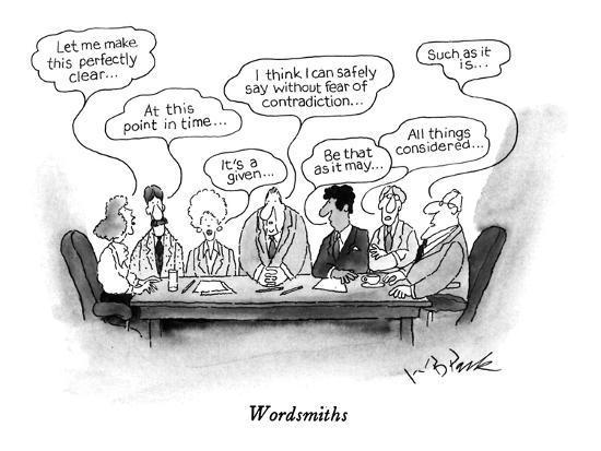 Wordsmiths - New Yorker Cartoon-W.B. Park-Premium Giclee Print