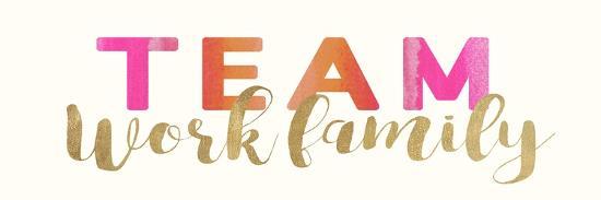 Work Family-Bella Dos Santos-Art Print