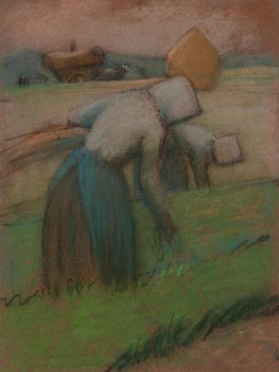 Work in the Fields-Julio González-Giclee Print