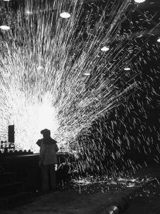 Workers Seeing Results from Flash Welding