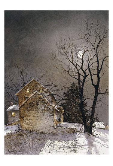 Working Late-Ray Hendershot-Art Print