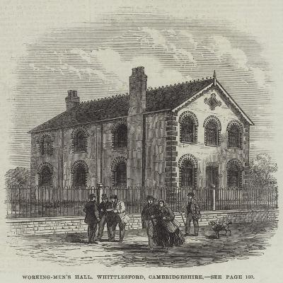 Working-Men's Hall, Whittlesford, Cambridgeshire--Giclee Print