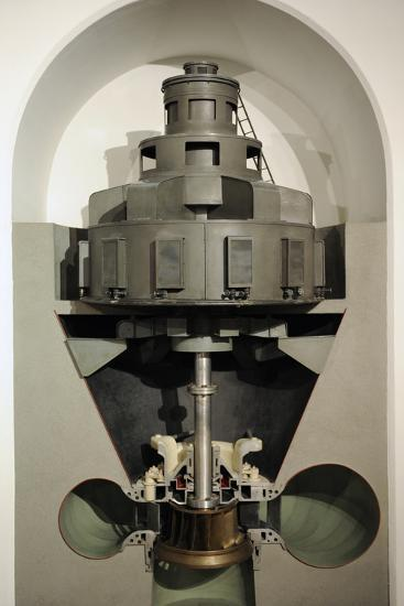 Working Model of a Pelton Turbine, Escher Wyss Ag, Ravensburg, 1952--Photographic Print