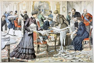 Workroom in the Winter Palace, St Petersburg, 1904--Giclee Print