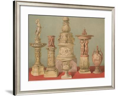 Works in Terra Cotta--Framed Giclee Print