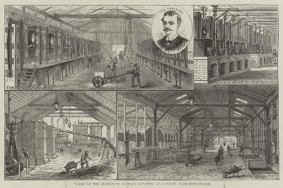 Works of the Aluminium Company (Limited), at Oldbury, Near Birmingham--Giclee Print