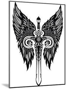 Sword by worksart