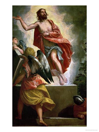 Workshop: Resurrection of Christ, circa 1580-1590-Paolo Veronese-Giclee Print