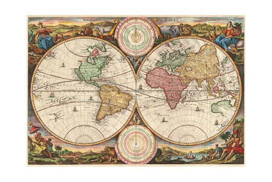 World 1730-Marcus Jules-Giclee Print