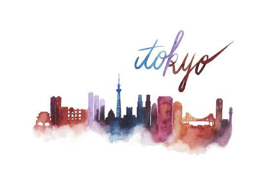 World Cities Skyline II-Grace Popp-Art Print