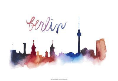 World Cities Skyline IV-Grace Popp-Art Print