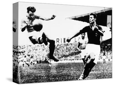 World Cup, 1938--Stretched Canvas Print