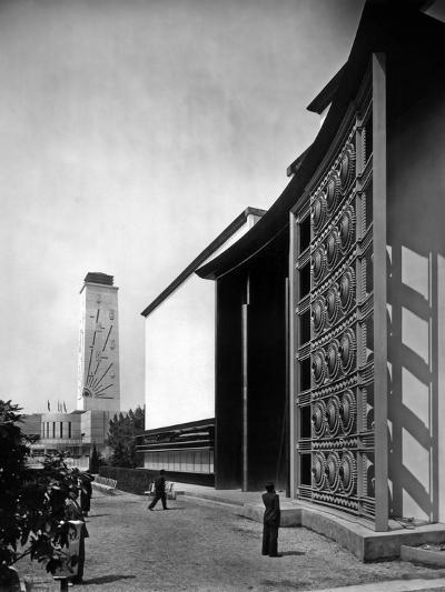 World Fair, Paris, 1937 : the Pavilion of Metal : Wrought Iron Door by Raymond Subes--Photo