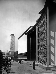 World Fair, Paris, 1937 : the Pavilion of Metal : Wrought Iron Door by Raymond Subes