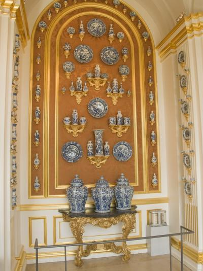World Famous Porcelain Collection in the Zwinger, Dresden, Saxony, Germany, Europe-Robert Harding-Photographic Print