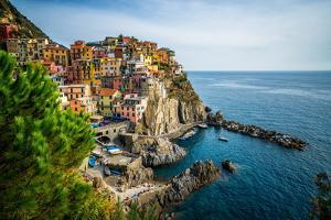 Manarola, Cinque Terre Coast of Italy by World Image
