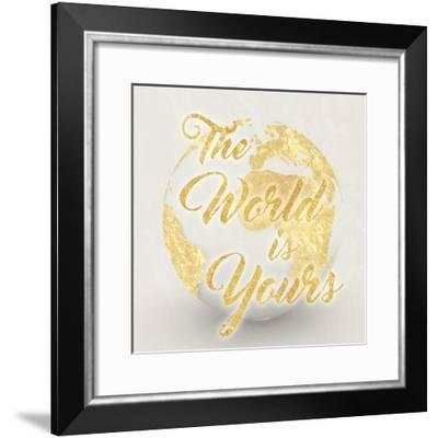 World Is Yours-Marcus Prime-Framed Art Print