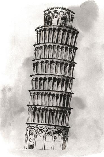 World Landmarks V-Grace Popp-Art Print
