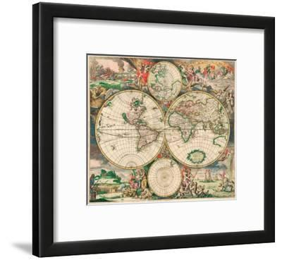 World Map, c.1689