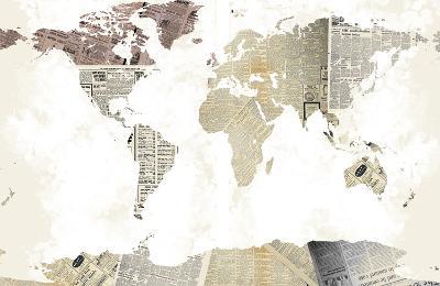 World Map I--Art Print