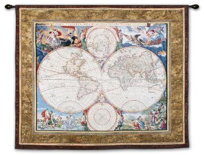 World Map--Wall Tapestry