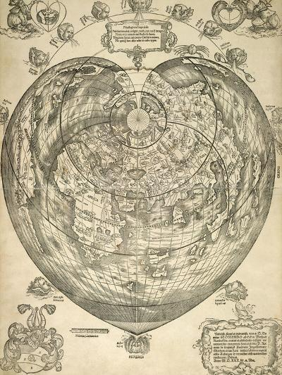 World Map--Giclee Print